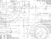 istock Technical Drawing 468108503