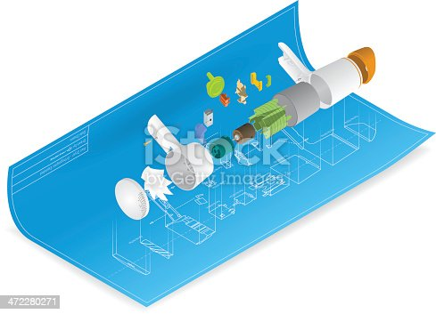 istock technical drawing 472280271