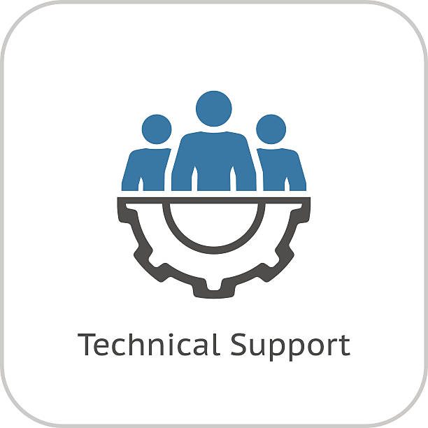 Royalty Free Information Technology Support Clip Art ...