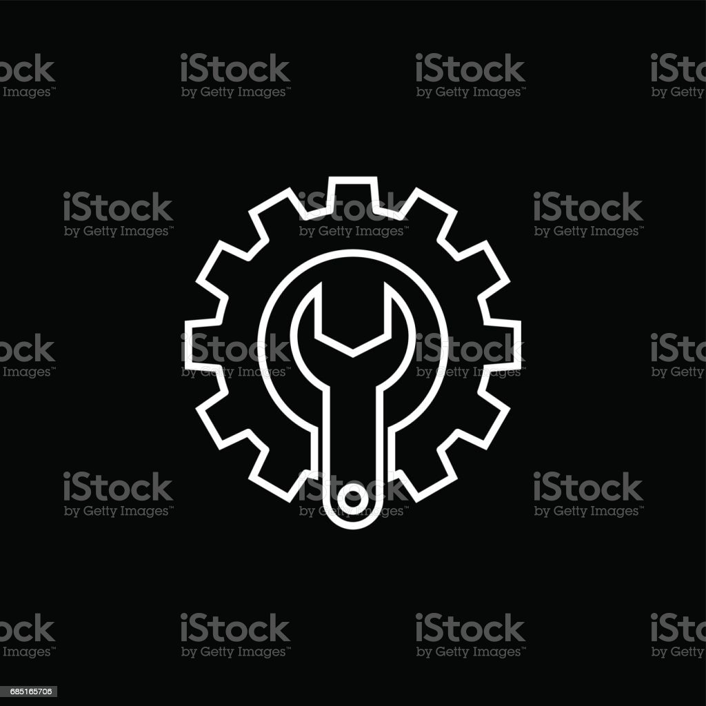Technical support line icon technical support line icon - arte vetorial de stock e mais imagens de apoio royalty-free