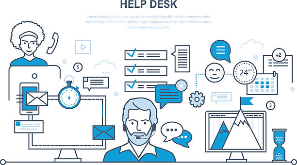 Royalty Free It Support Clip Art, Vector Images ...