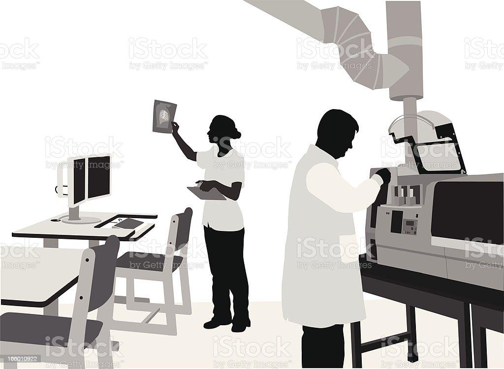 Technical Work vector art illustration