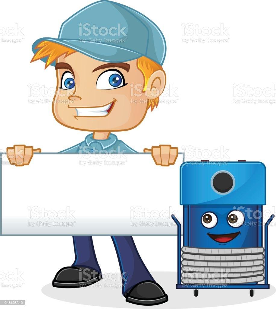 royalty free hvac technician clip art vector images illustrations rh istockphoto com free hvac clipart download HVAC Cartoon