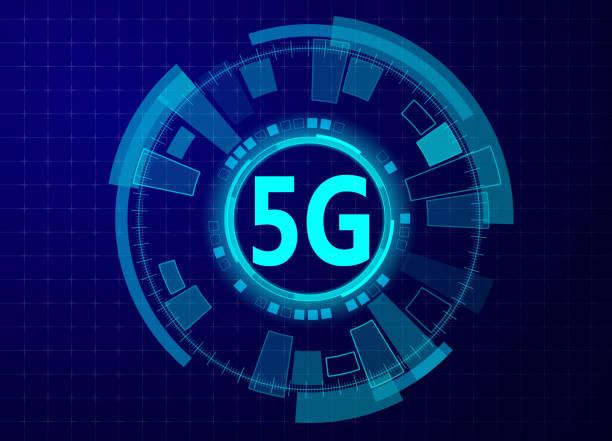 5G-Technologie – Vektorgrafik
