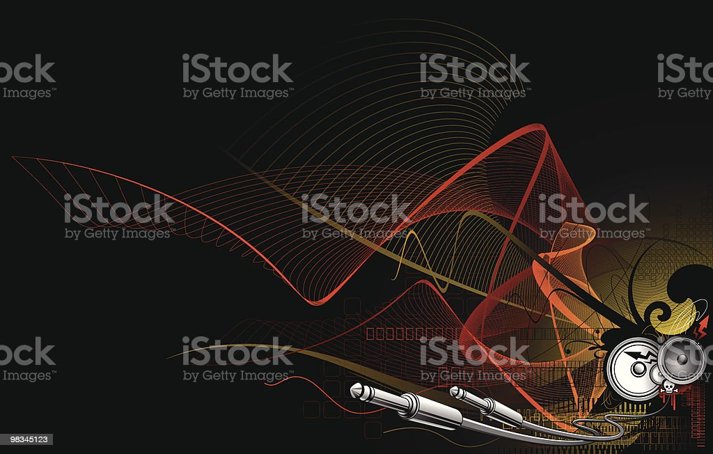 Techno sound royalty-free techno sound stock vector art & more images of abstract