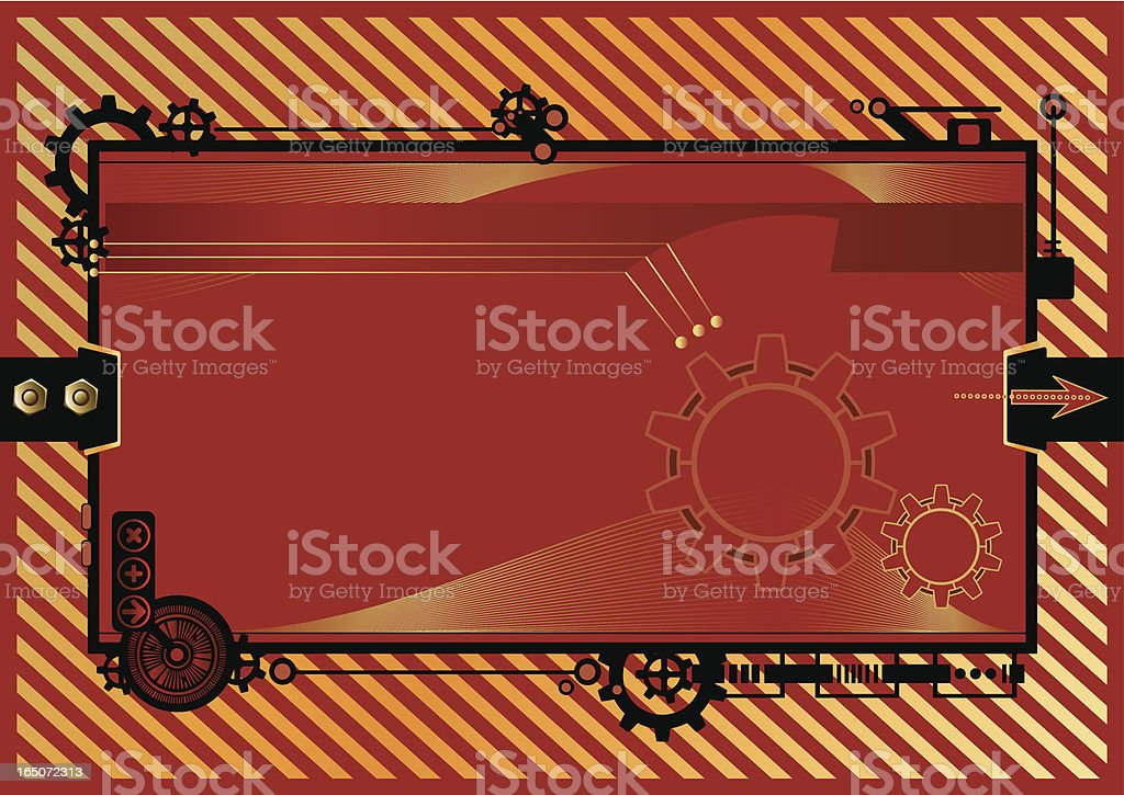 Technological frame royalty-free technological frame stock vector art & more images of arrow symbol