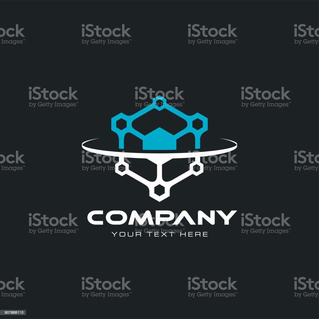 technological icon vector art illustration