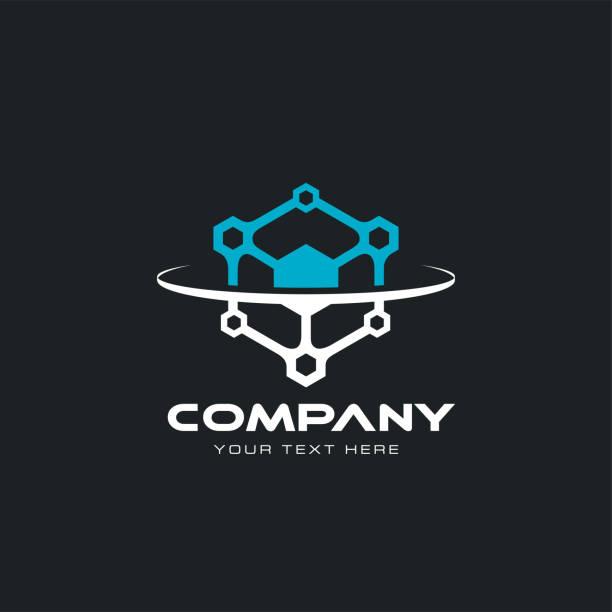 ilustraciones, imágenes clip art, dibujos animados e iconos de stock de icono del tecnológico - logotipos de investigación