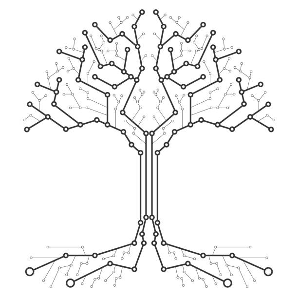 Royalty Free Root System Clip Art, Vector Images