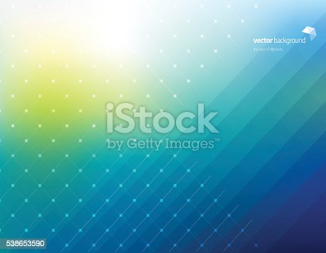 Abstract Green Background Design Vector File For Free