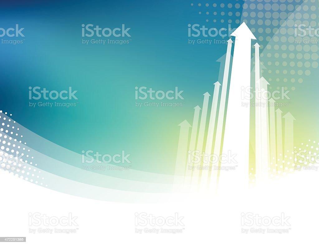 Technology abstract vector art illustration