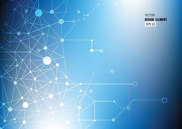 Technologie-Abstrakte – Vektorgrafik