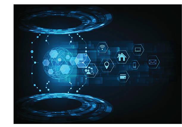 technology abstract75 – Vektorgrafik