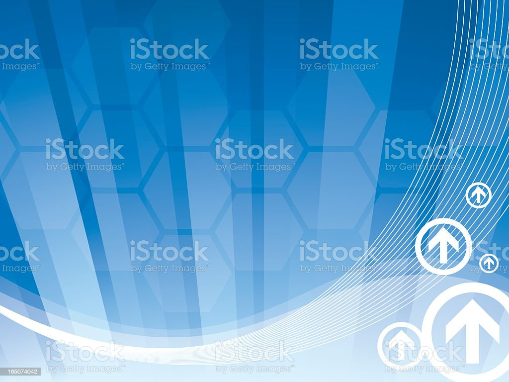 Technology And Business Abstract royalty-free technology and business abstract stock vector art & more images of abstract