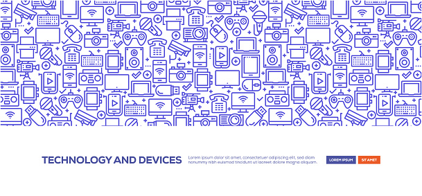 Technology and Devices Banner