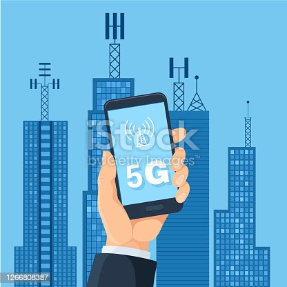 istock 5G technology and smart city 1266808387