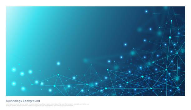 illustrazioni stock, clip art, cartoni animati e icone di tendenza di tecnologia illustrazione stock di sfondo - technology