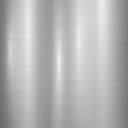 Technology Background with Metal Texture