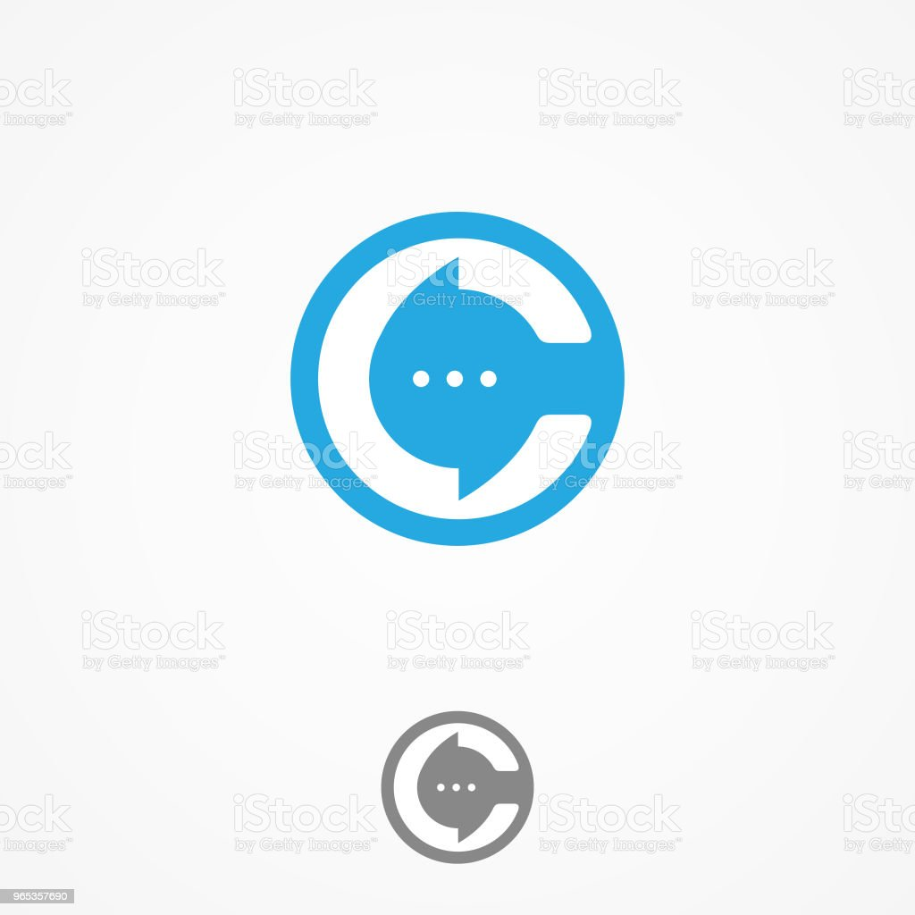 Technology business corporate letter c vector design with bulb chat technology business corporate letter c vector design with bulb chat - stockowe grafiki wektorowe i więcej obrazów abstrakcja royalty-free