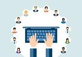 istock Technology Communication Networking Webinar Concept 542332042