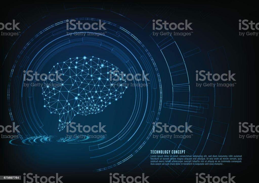 technology concept vector art illustration