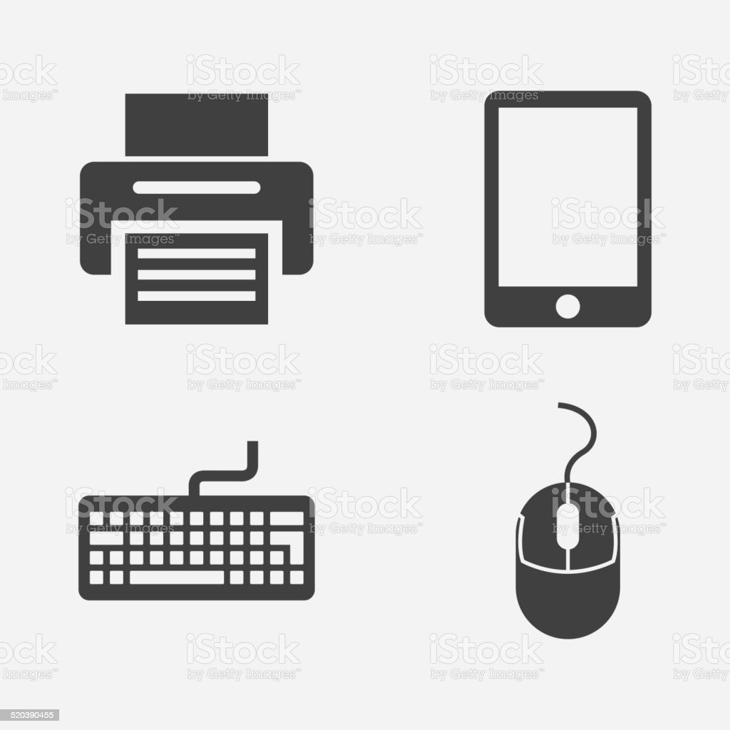 Technology design vector art illustration