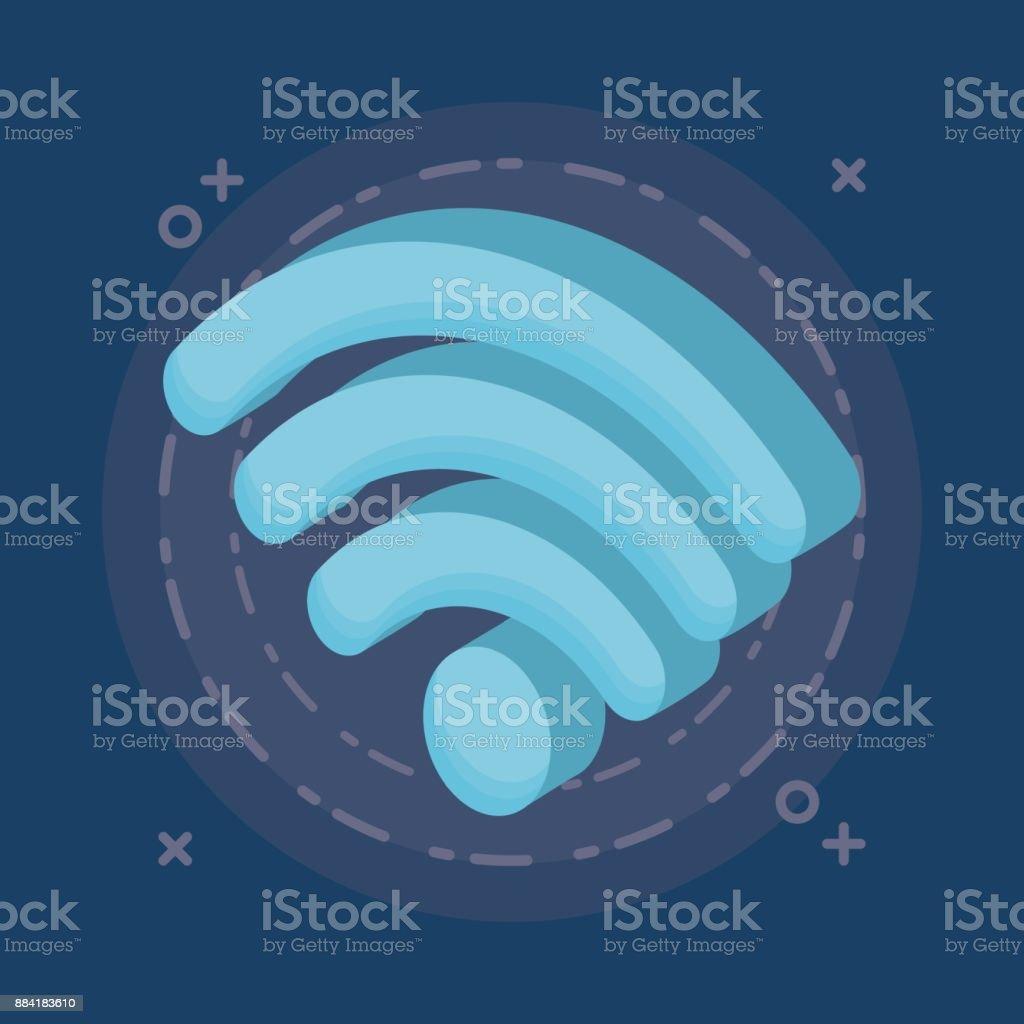 Technology Devices Design Stock Illustration