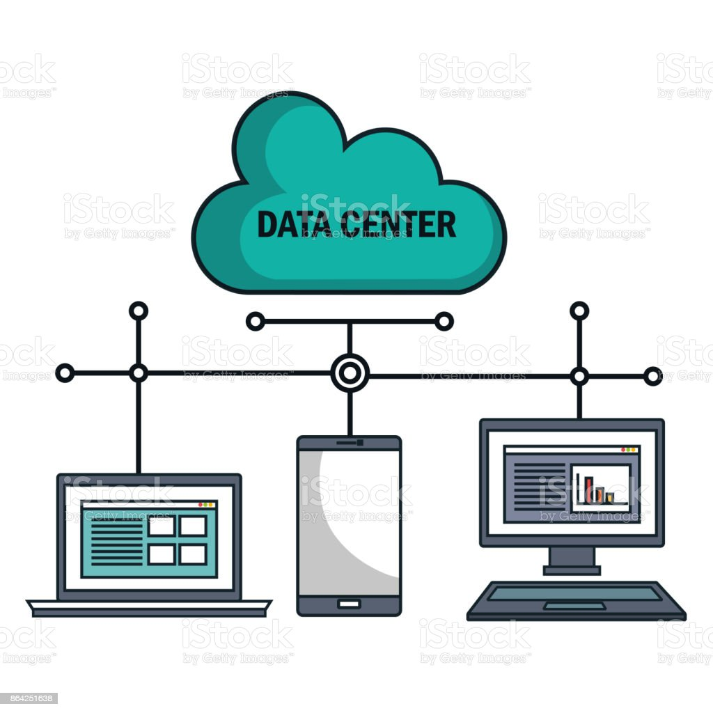technology equipment cloud data center isolated royalty-free technology equipment cloud data center isolated stock vector art & more images of backgrounds