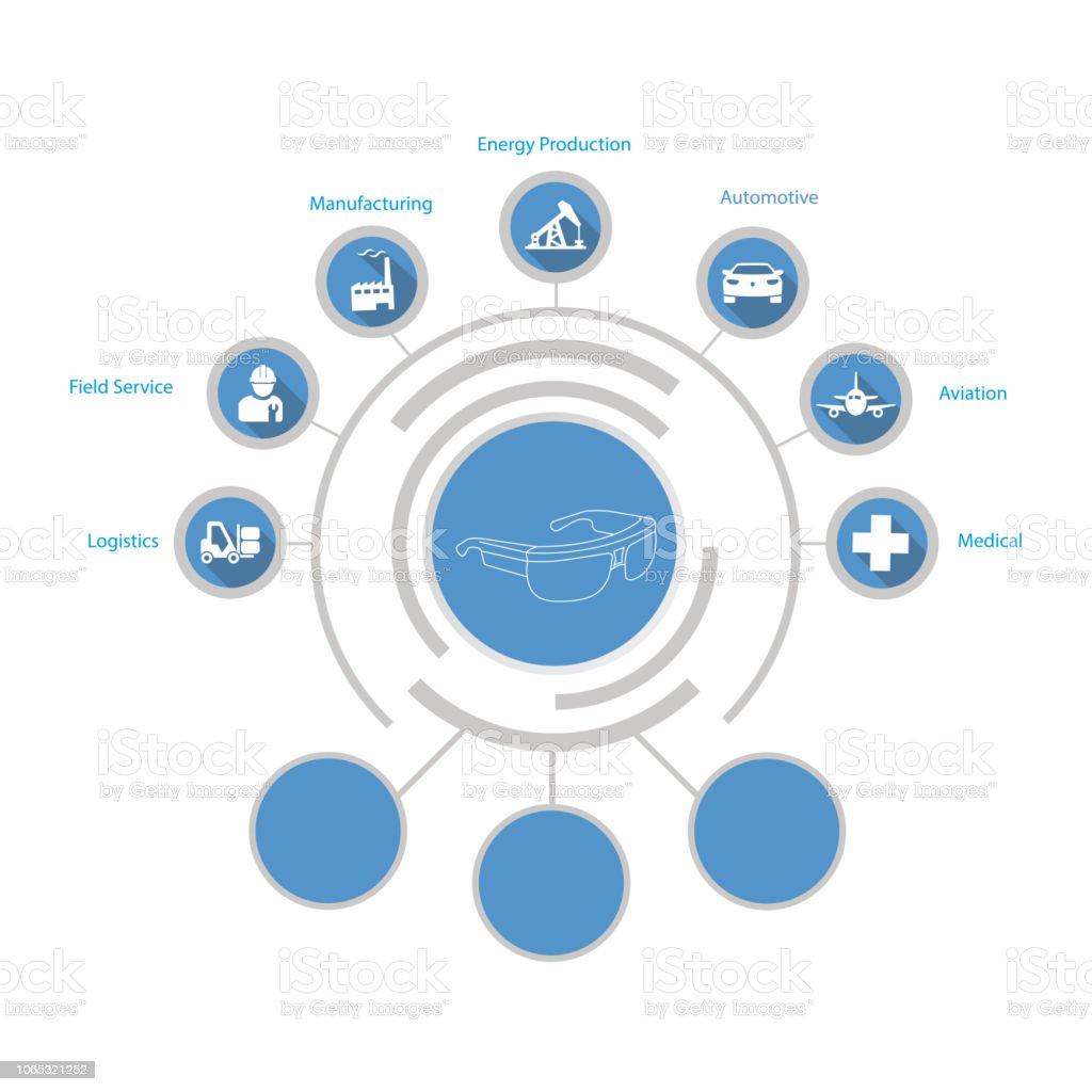Technology Infographic vector art illustration
