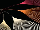 technology line pattern background