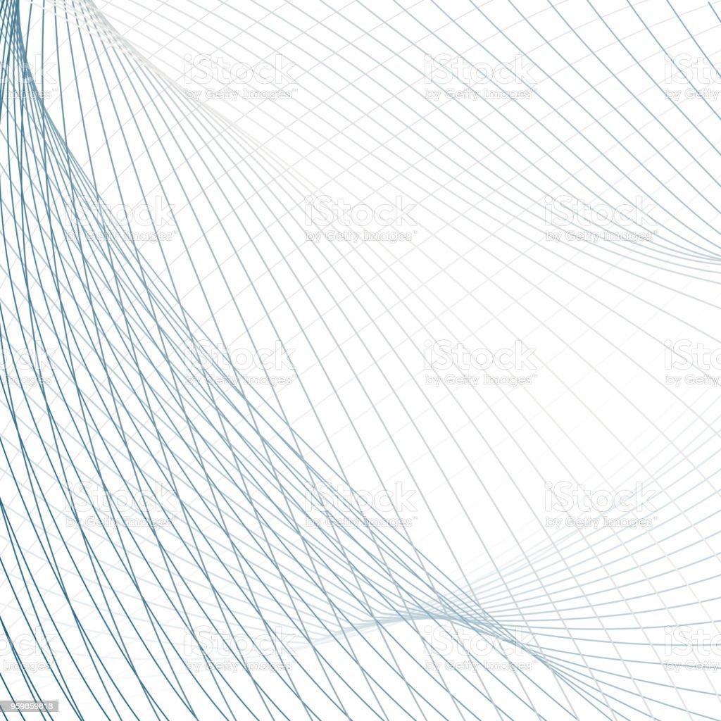 Ilustración de Fondo Red De Tecnología Resumen Patrón De Agitar Las ...