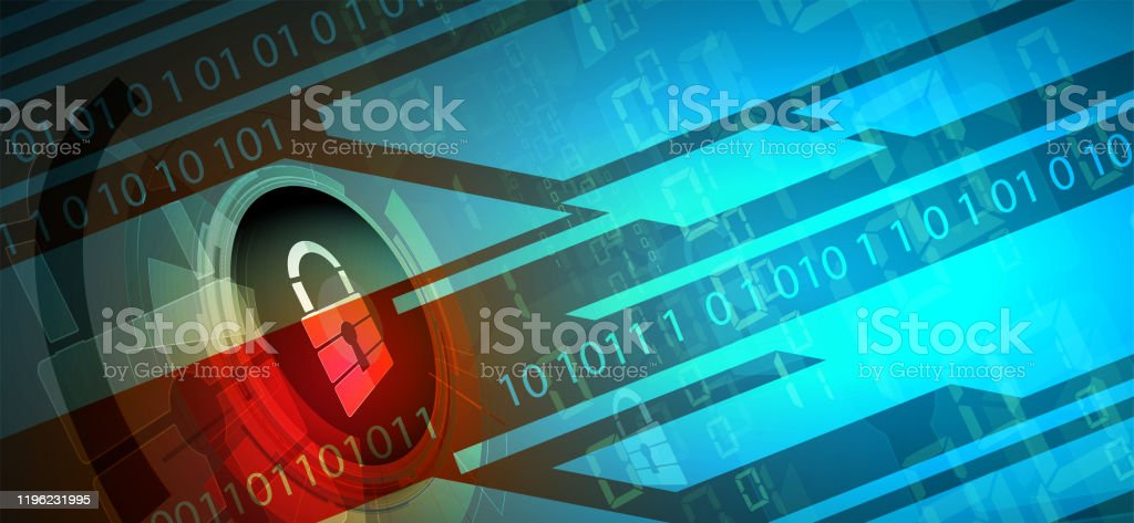 Technology Security Concept Modern Safety Digital Background Stock Illustration Download Image Now Istock