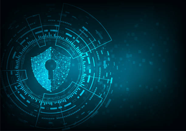 IT-Sicherheit – Vektorgrafik
