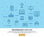 Technology Services Concept