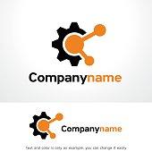 Technology Share Symbol Template Design Vector, Emblem, Design Concept, Creative Symbol, Icon