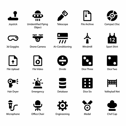 Technology Solid Icons