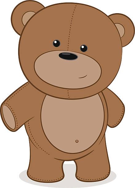 royalty free teddy bear clip art vector images illustrations istock