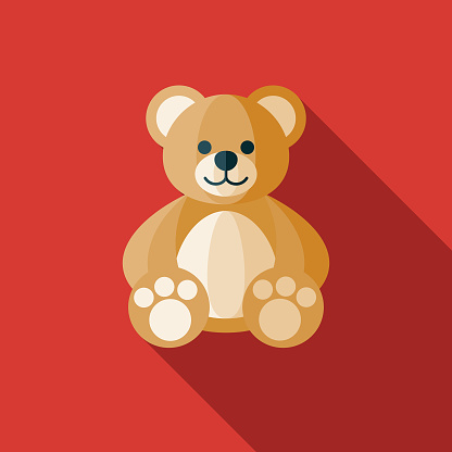 Teddy Bear Children's Toy Icon