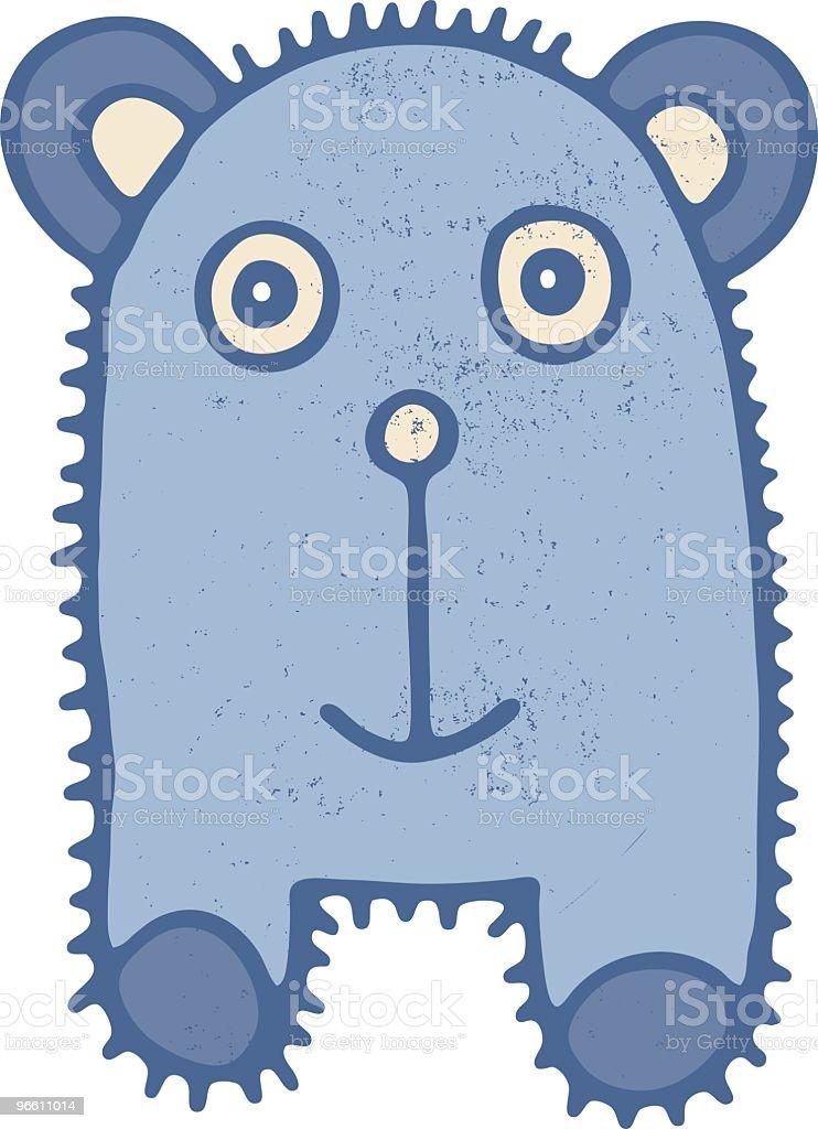 Urso de Pelúcia Criatura - Royalty-free Animal arte vetorial