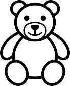 An icon of a teddy bear