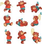 Teddy Bear Series: butterfly