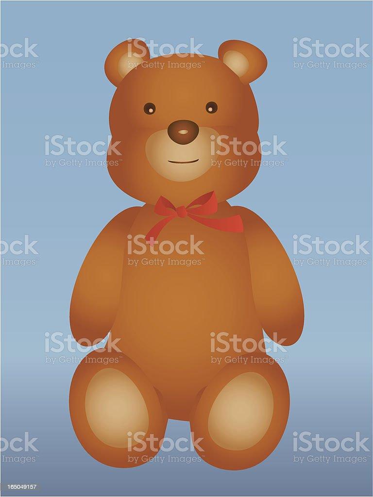 Teddy bear royalty-free stock vector art