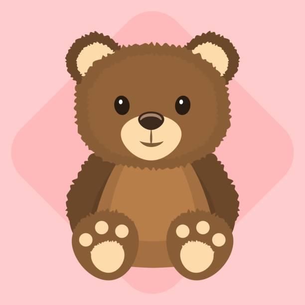 ilustrações de stock, clip art, desenhos animados e ícones de urso de pelúcia - teddy bear