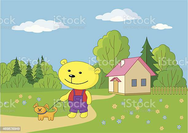 Teddy bear walking with a dog vector id469826949?b=1&k=6&m=469826949&s=612x612&h=uod2daecitlgkdd6idxuy9vt8dbiggcb5bnzzkqmzli=
