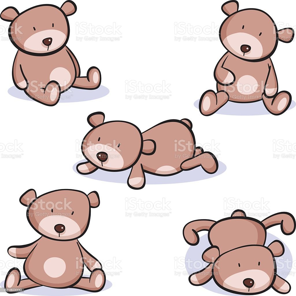 royalty free teddy bear clip art vector images illustrations istock rh istockphoto com clipart teddy bear clipart teddy bears free