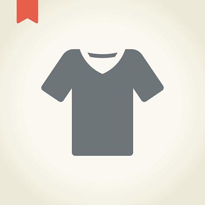 Tee shirt icon