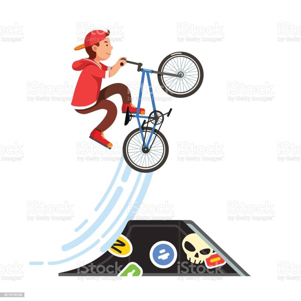 BMX STUNT RIDER ADULT /& KIDS HOODIE