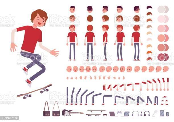 Teenager boy character creation set vector id672437180?b=1&k=6&m=672437180&s=612x612&h=sacb6 p7mz ek3mbwexpena2dxnafznq5vzrqyseoti=
