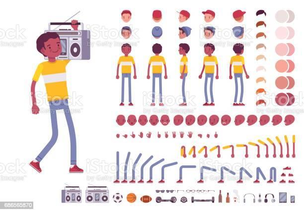 Teenager boy character creation set vector id686565870?b=1&k=6&m=686565870&s=612x612&h=hmxw7 kazohjauaumwbuvoikrc8j k myazi4kptuqo=