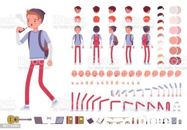 Teenager boy character creation set vector id692794564?b=1&k=6&m=692794564&s=612x612&h=eqd8qhsoz q8imwsclhf9 xrsav2tbksi33qzwr1ahq=